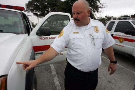 firefighter near electrocution