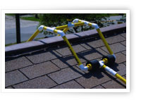 Roof Sprinkler for Structure Protection