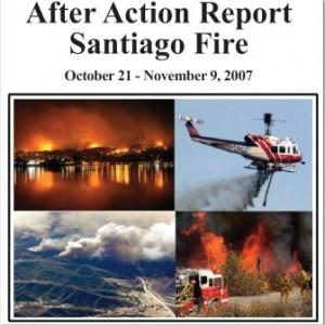 Santiago fire AAR