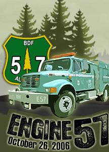 Esperanza fire engine 57