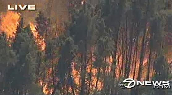 Lockheed Fire Near Santa Cruz Ca Wildfire Today