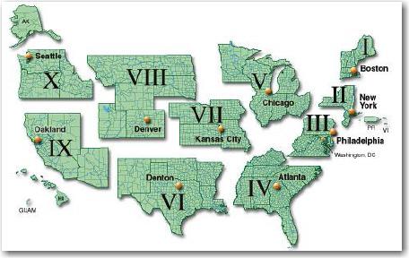 FEMAs Regions
