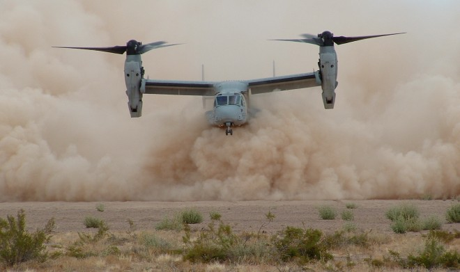 Osprey. USAF photo