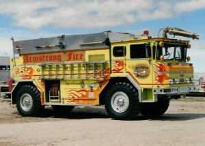 Armstrong fire truck