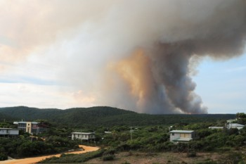 Airey's Inlet fire