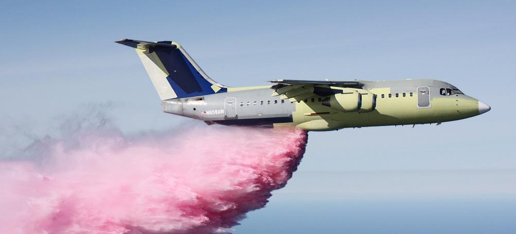 BAe-146 air tanker