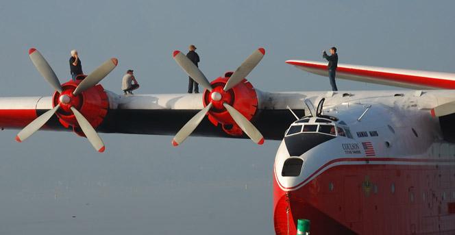 Martin Mars air tanker