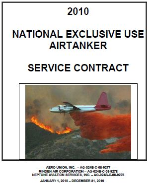 air tanker contract 2010