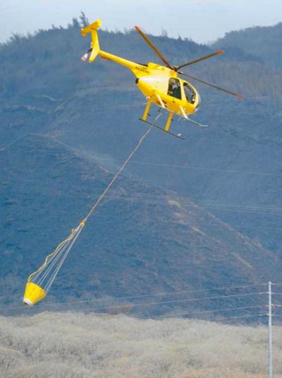 Windward Aviation helicopter