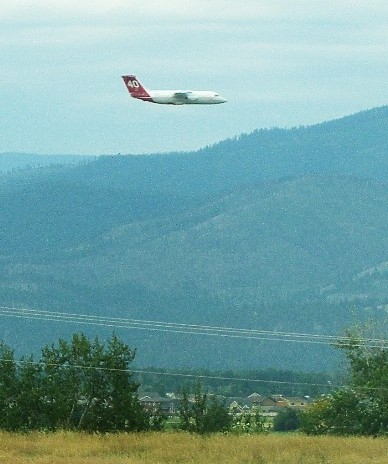 air tanker 40 test at Missoula
