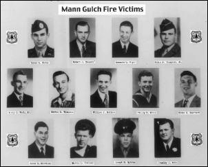 Mann Gulch fire victims