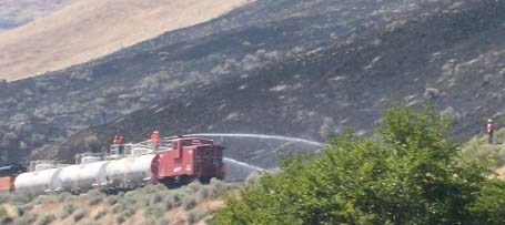 firefighting train