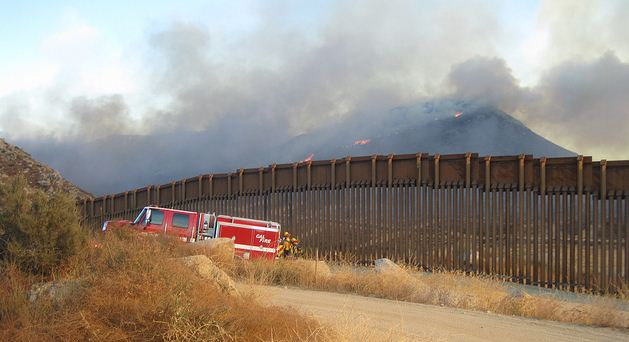 Border 11 fire
