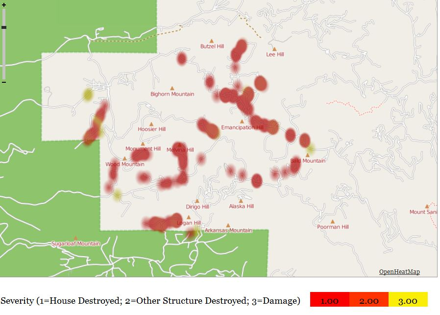 Fourmile_fire_map_burned_homes_structures