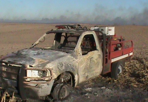 Stafford_County_truck_burned
