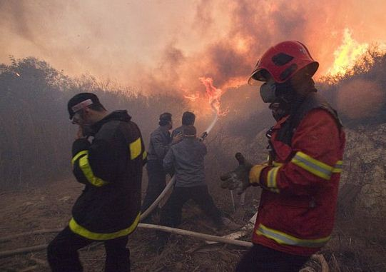 Israel firefighters