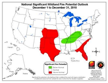 wildfire Outlook December 2010