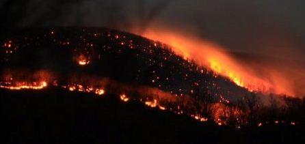Shenandoah NP fire