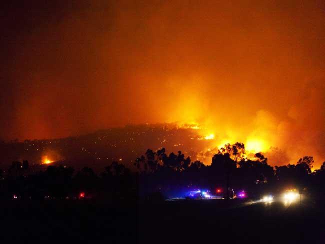 Recent Bushfires In Australia 2011