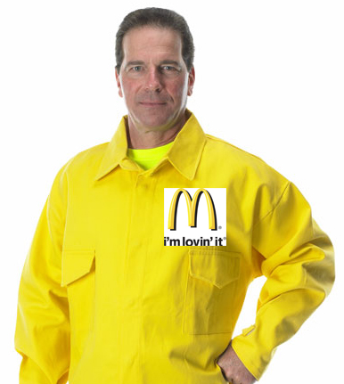 US Fish and Wildlife Service McDonald's shirt