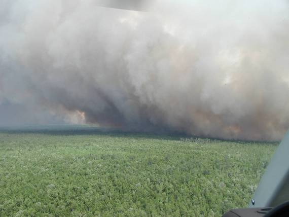 Honey Prairie fire adds 81,000 acres in six days