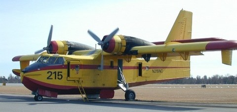 North Carolina's CL-215 before it was sold in March