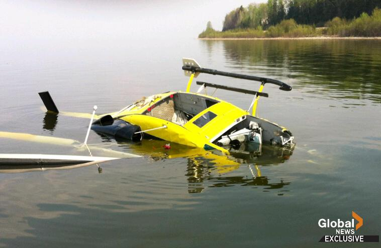 Slave Lake HELICOPTER CRASH