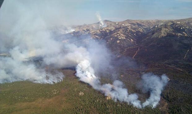 Coal Creek fire
