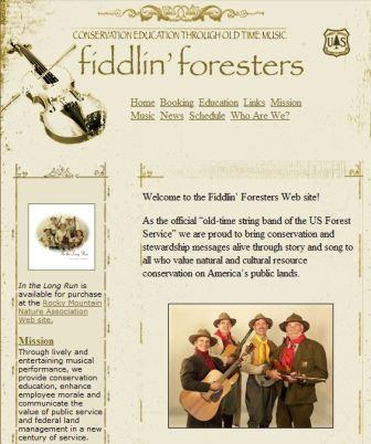 Fiddlin Foresters web site