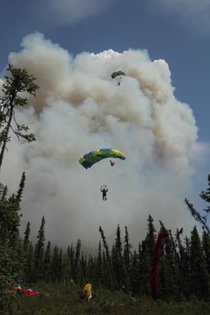 Hastings fire moves within 3 miles of Fairbanks subdivision