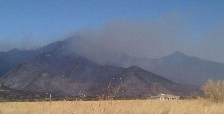 Monument fire 6-16-2011