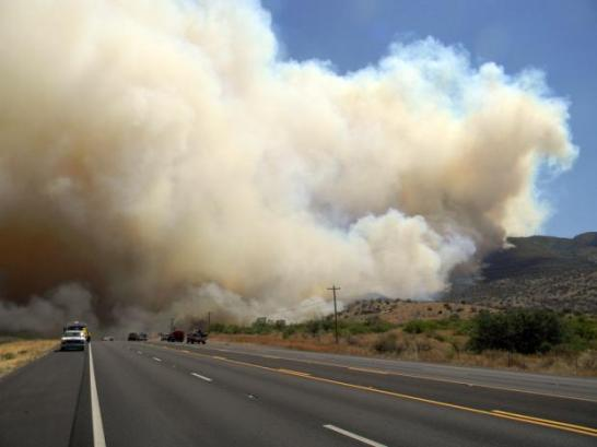 Monument fire 6-19-2011