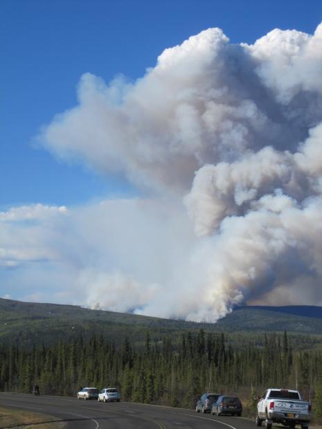 Moose Mountain fire