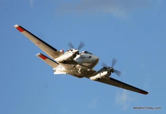 Lead plane, Whoopup fire