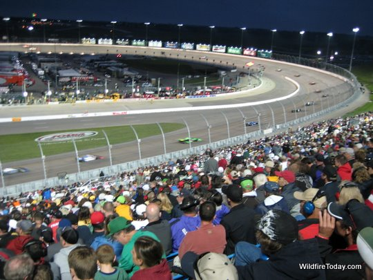 The Indycar Race at Iowa Speedway, June 25, 2011