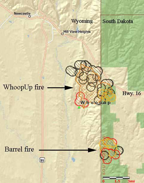 WhoopUp fire map