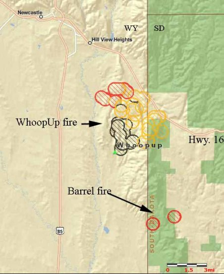 WhoopUp fire update, July 20, 2011