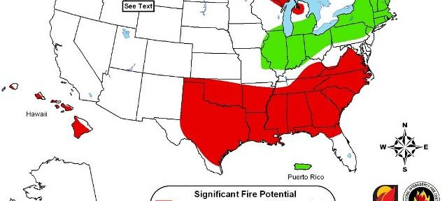 Wildfire potential, September through December, 2011