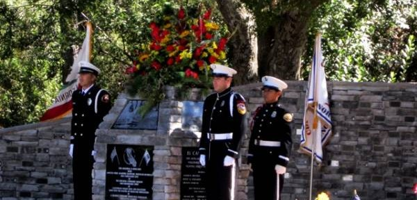 Wildland firefighter memorial dedicated in California