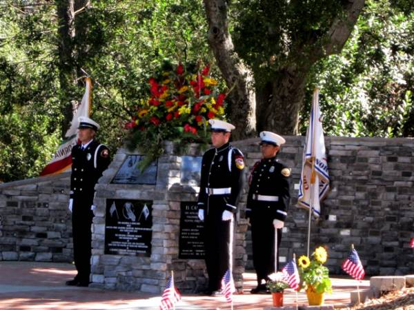 Dedication of the California Wildland Firefighter Memorial