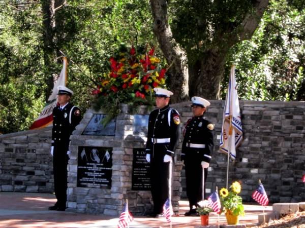 Dedication of the California Wildland Firefighter Memorial