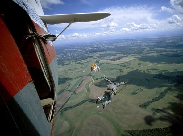 Russian smokejumpers
