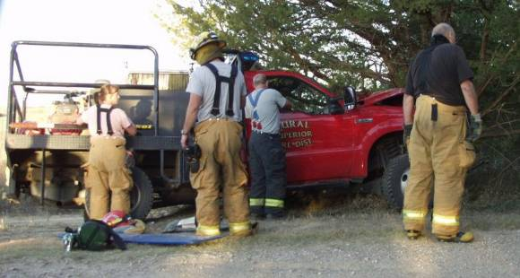 Crash of Superior Fire Department wildland fire engine