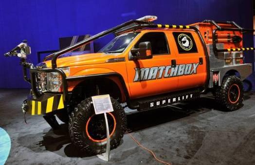 Matchbox makes a brush truck