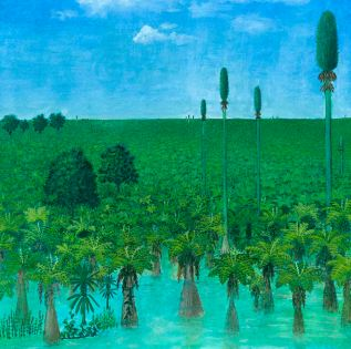 Reconstruction of the peat forming forest