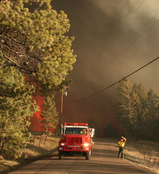 Lower North Fork fire, 4:00 p.m, 3-26-2012