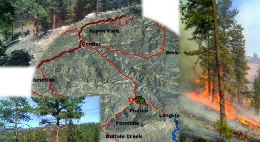 Lower North Fork Fire prescribed fire report