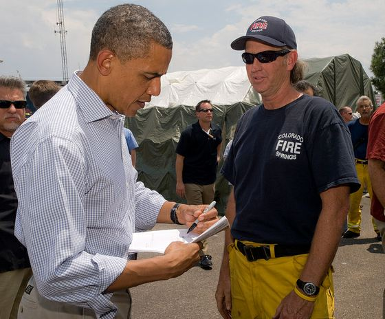 President's visit to the Waldo Canyon fire in Colorado Springs