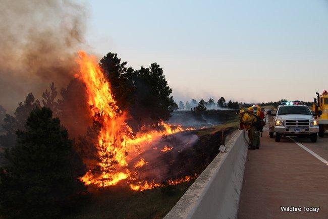 White Draw wildfire fire South Dakota
