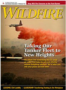 Wildfire cover, May-June, 2012